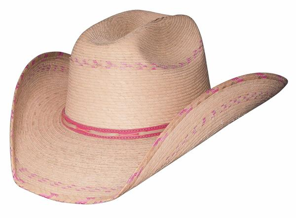 Bullhide Hats Lil' Pardner Collection: Palm Leaf Candy Kisses 10K Natural One Size