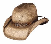 Bullhide Hats Lil' Pardner Collection: Raffia Horse Play Natural S-XL