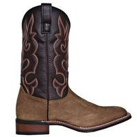 Men's Dan Post Boots Laredo Stockman: Lodi Chocolate Taupe