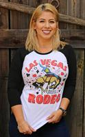 Original Cowgirl Clothing: A Tee Baseball Las Vegas Rodeo