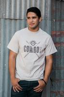 M&P Speed Shop Men's T-Shirt: California Cowboy Crossed Arrows Unisex S-4XL