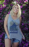Original Cowgirl Clothing: Tank Montana Wild West Fringe S-XL