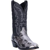 Men's Dan Post Boots Laredo Exotic Prints: Monty Snake Print Black