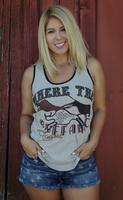 Original Cowgirl Clothing: Tank Where The Buffalo Roam