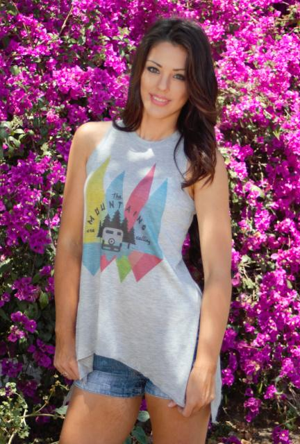 Original Cowgirl Clothing: Tank The Mountains Are Calling S-2XL