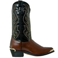 Men's Dan Post Boots Laredo Western: Nashville Black J Toe D, EW 7-12, 13