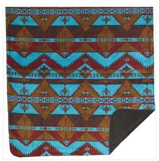 Denali® Western Collection: Native Journey Reverse Taupe Throw Blanket