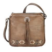 American West Handbag A Native Sun Collection: Leather Crossbody Western Bag