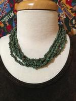 A Two Grey Hills: Five Strand Turquoise Necklace SALE