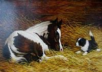 Artist Toni Haigh: Giclee New Found Friends