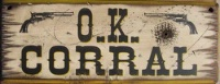 Wall Sign Movie: Tombstone O.K. Corral