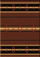 ZSold American Dakota Rug: Cabin & Camp Collection Old Timer Brown 3x4 SOLD