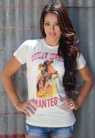 Original Cowgirl Clothing: Tee Outlaw Cowgirl Wanted