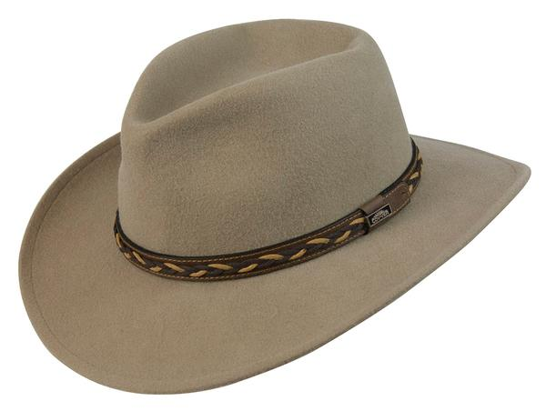 cbfcbca3a Conner Handmade Hats Cowboy Western Style: Wool Jasper Outback Putty  Backordered