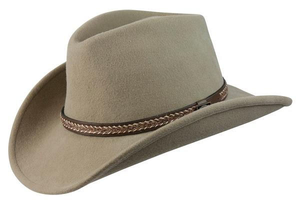 1201002C - Conner Handmade Hats Cowboy Western Style  Wool with Hat Band  Horse Hair Style Putty S-XL d14458b93d4f