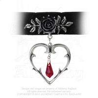 Alchemy Necklace Gothic: Wounded Love Choker
