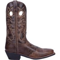 Men's Dan Post Boots Laredo Traditional: Pequin Brown Saddle