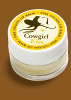 ZSold Wild West Cowgirl Kiss Lip Balm: Pina Colada SOLD