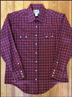 Rockmount Ranch Wear Men's Western Shirt: A Plaid Red Blue S-2XL