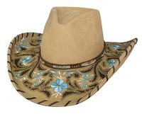 Bullhide Hats Platinum Collection: Wool Always On My Mind Carmel S-XL