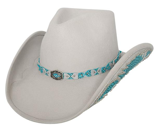 Bullhide Hats Platinum Collection: Wool Natural Beauty Silverbelly S-XL