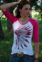 Original Cowgirl Clothing: Tee Baseball Princess Headdress