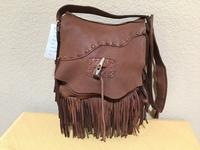 Patricia Wolf Handbag: Shoulder with Fringe