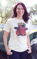 Original Cowgirl Clothing: Tee Queen of the Ranch S-4XL