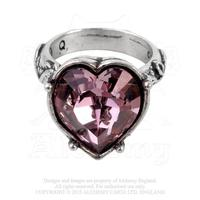 ZSold Alchemy Ring Gothic: Heart Bower Troth Ring SOLD
