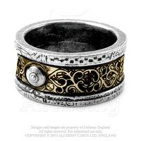 Alchemy Ring Steampunk: Induction Principle Ring