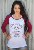 Original Cowgirl Clothing: Tee Baseball RAM American Legend Dirt Destroyer S-2XL