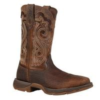 Ladies' Rocky Brands Boots Durango: Lady Rebel Collection Steel Toe Brown Square Toe 6-10