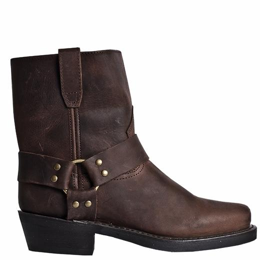 Men S Dan Post Boots Dingo Harness A Rev Up Gaucho Snoot Toe