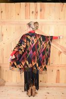 Rhonda Stark Designs Italian Acrylic Collection: Cape Sunset Diamond, Fringe