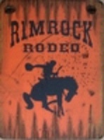 ZSold Cowboy Brand Furniture: Wall Sign-Rodeo-Rimrock