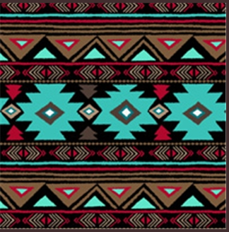 A Rockmount Ranch Wear Blanket Native American Design