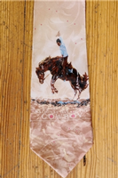 Rockmount Ranch Wear Accessory: Necktie Joelle Smith National Day of the Cowboy Silk