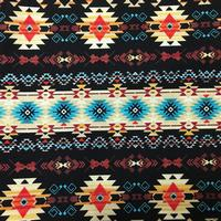 Rockmount Ranch Wear Accessory: Bandana Native Print Black