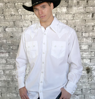 Rockmount Ranch Wear Men's Western Shirt: Dress Shirt Oxford 2X