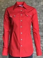 Rockmount Ranch Wear Ladies' Western Shirt: Cotton Blend Red 2XL