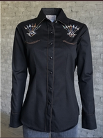 Rockmount Ranch Wear Ladies' Vintage Western Shirt: A Follow Your Arrow