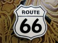 Rockmount Ranch Wear Accessory: Buckle Trophy Enamel Route 66