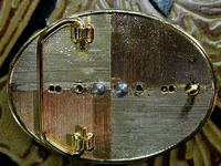 Rockmount Ranch Wear Accessory: Buckle Trophy Oval John Wayne, The Duke
