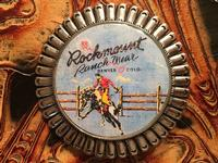 Rockmount Ranch Wear Accessory: Buckle Trophy Signature Bronc