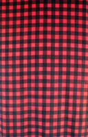 ZSold Rockmount Ranch Wear Blanket: Americana Classic Buffalo Check Red and Black SOLD