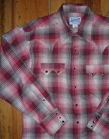 Rockmount Ranch Wear Men's Western Shirt: A Shadow Plaid Red Cotton S-XL