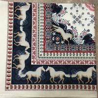 Rockmount Ranch Wear Accessory: Bandana Paisley Horses
