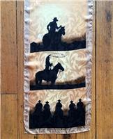 Rockmount Ranch Wear Accessory: Scarf Riders Silhouette Oblong