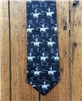 Rockmount Ranch Wear Accessory: Necktie Roper and Brands Black