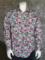 Rockmount Ranch Wear Men's Western Shirt: Print Day of the Dead 2X